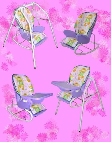 Кресло качалка стульчик для кормления
